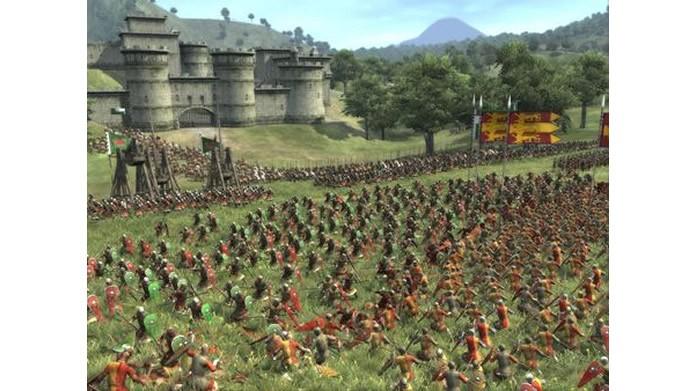 Com um excelente visual, Medieval II: Total War Kingdoms tem batalhas medievais históricas e ótimas opções de partida multiplayer  (Foto: Divulgação)