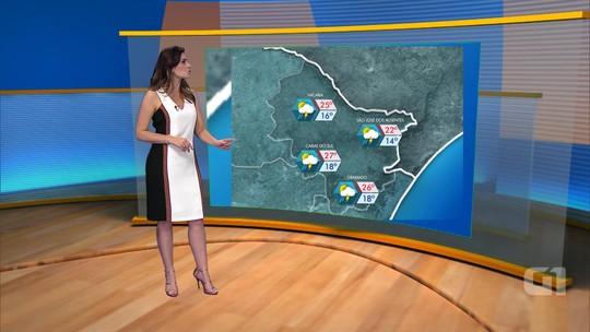 Domingo deve ser ensolarado, mas chove em algumas regiões do RS