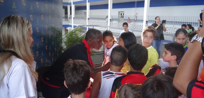 Adílio, ex-jogador do Flamengo (Foto: Jota Rufino / GloboEsporte.com)