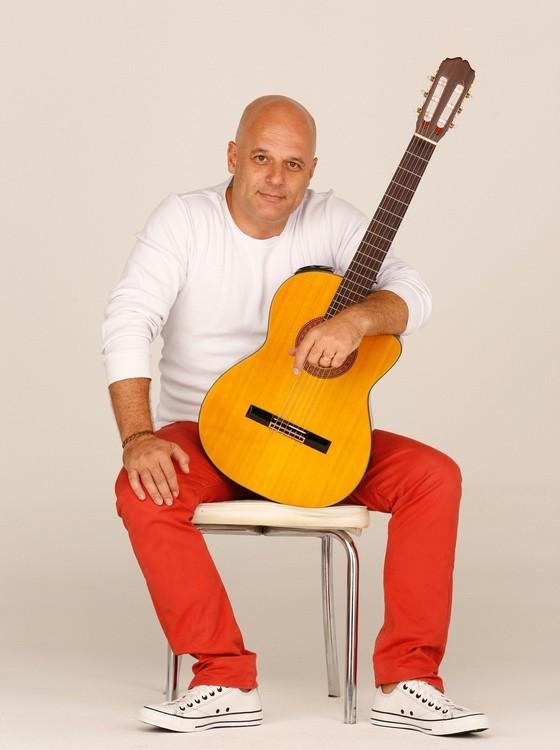 Marcelo Quintanilha: novo trabalho do músico foi batizado de Caju, como Cazuza era chamado por amigos (Foto: Drausio Tuzzolo)