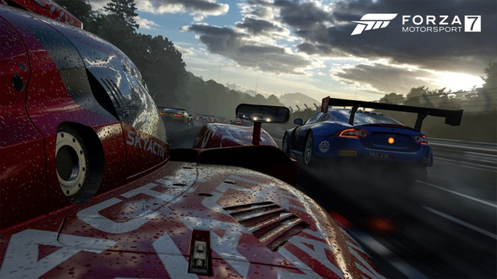 Forza Motorsport 7 foi apresentado em uma resolução de 4K e 60 FPS no Xbox One X (Foto: Divulgação/Microsoft)