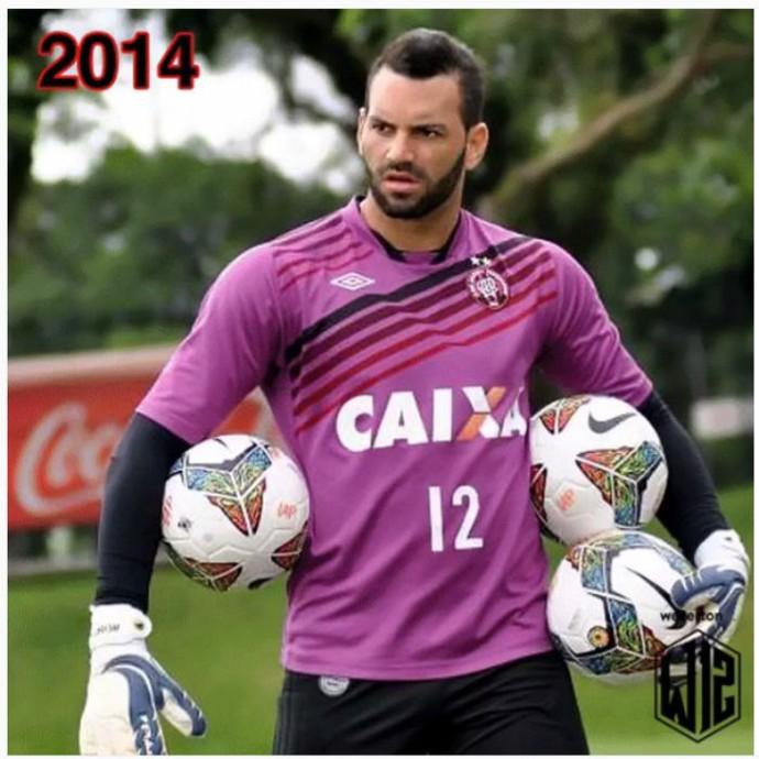 Goleiro Weverton do Atlético-PR (Foto: Reprodução/Instagram)