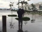 Rio volta ao estágio de normalidade depois da chuva da madrugada