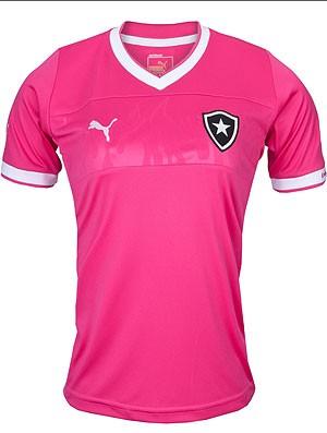 9e8ce5bd0e Botafogo terá camisa rosa em linha especial para o público feminino ...