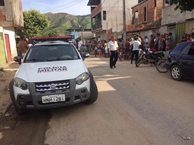 Parentes e testemunhas contaram aos policiais terem ouvido cinco disparos (Foto: Farlley Vasconcelos/Arquivo Pessoal)