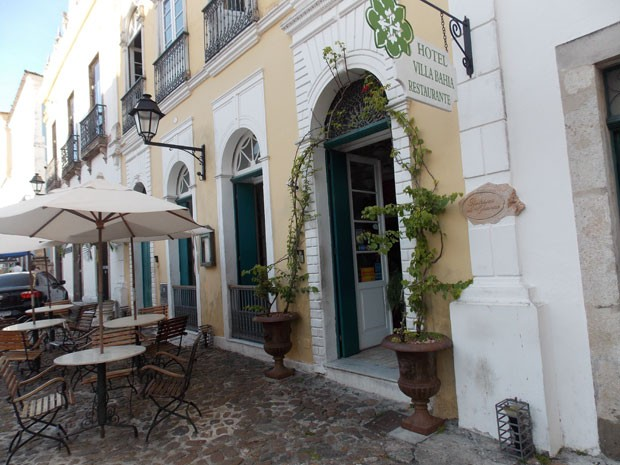 Charmoso hotel no Pelourinho, Centro Histórico de Salvador, não tem mais vaga (Foto: Henrique Mendes/G1 BA)