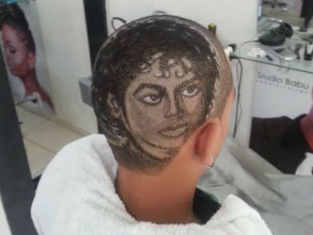 Babu cabeleireiro Michael Jackson (Foto: Studio Babu/Divulgação)