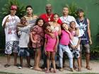 Mr. Catra posa com os filhos para o especial de Dia dos Pais do EGO