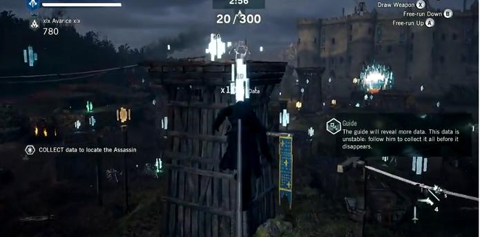 O modo Rift de Assassins Creed: Unity terá como objetivo coletar dados no menor tempo. (Foto: Reprodução/YouTube)