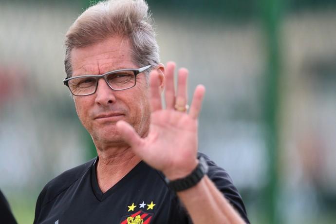 Oswaldo de Oliveira Sport (Foto: Aldo Carneiro/ Pernambuco Press)