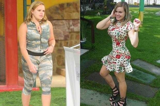 Transformação BBB - Paulinha Leitte (Foto: TV GLOBO - CEDOC - Reprodução / Instagram)