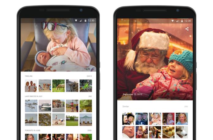 Shoebox salva fotos em tamanho maior que no Google Fotos (Foto: Divulgação)
