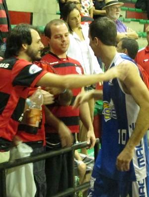 Basquete Duda Macaé x Flamengo (Foto: Fabio Leme)
