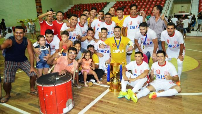 Big Bran campeão acreano de futsal da 1ª divisão 2016 (Foto: Adelcimar Carvalho)