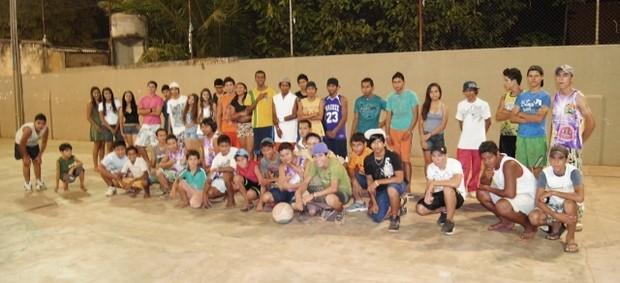 Clube Amigos do Basquetebol em Guajará-Mirim, Rondônia (Foto: Cleilson Sales/Divulgação)