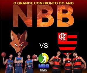Flamengo x Brasília NBB Manaus (Foto: Divulgação)