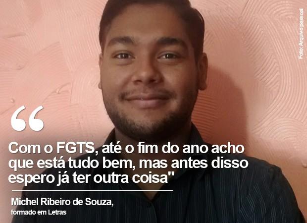 Michel Ribeiro de Souza (Foto: Arquivo Pessoal)