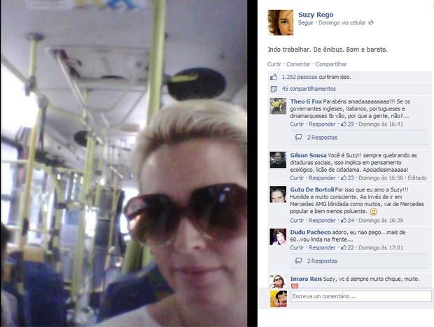 Suzy Rêgo (Foto: Reprodução/Facebook)