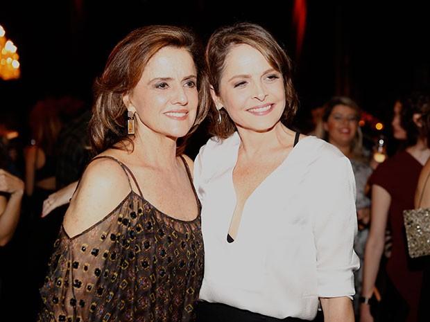 Drica e Marieta viverão personagens fortes em Verdades Secretas (Foto: Ellen Soares / Gshow)