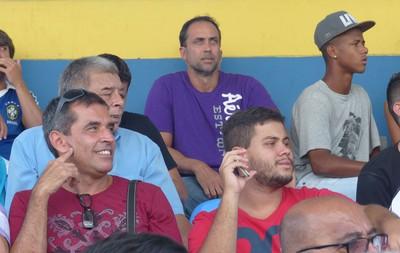 Nando, pai do Rodrigo Pinho, Madureira x Bonsucesso (Foto: Cauê Rademaker)
