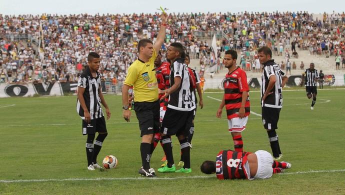 Treze, Campinense, João Bosco Sátiro (Foto: Leonardo Silva / Jornal da Paraíba)