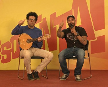 Diogo Nogueira e Hamilton de Holanda cantam 'Bossa Negra' (Esquenta / Gshow)