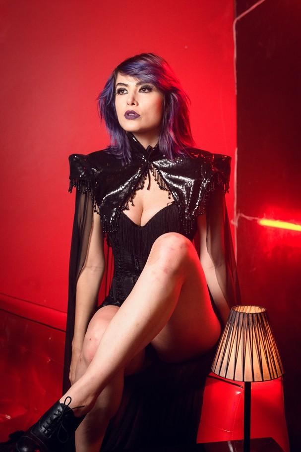 "Maria Casadevall como a Lilith de ""Vade Retro"" (Foto: Ramon Vasconcelos/Rede Globo)"
