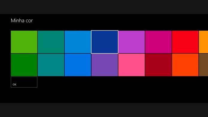 Altere as cores do menu (Foto: Reprodução/Murilo Molina)