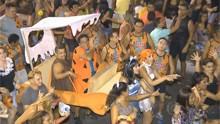 Hora 1 e Bom Dia Brasil destacam desfile do Muriçocas do Miramar (Divulgação)