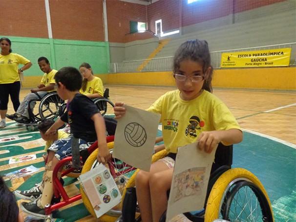 Esporte e atividades lúdicas para as crianças  (Foto: Foto: Divulgação/ RS Paradesporto)