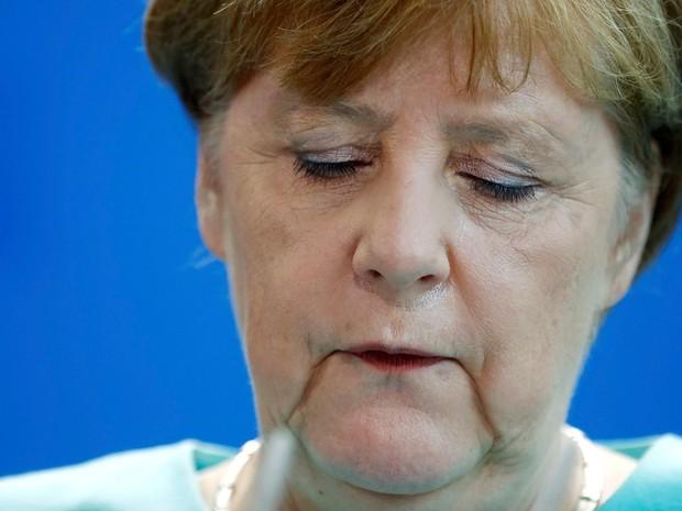 Brexit é um 'golpe contra a Europa e o processo de unificação', diz Merkel (Foto: Hannibal Hanschke/Reuters)