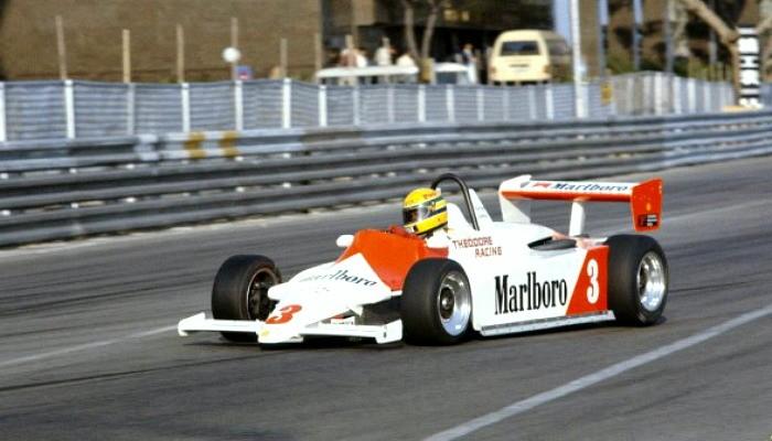 Ayrton Senna GP de Macau 1983