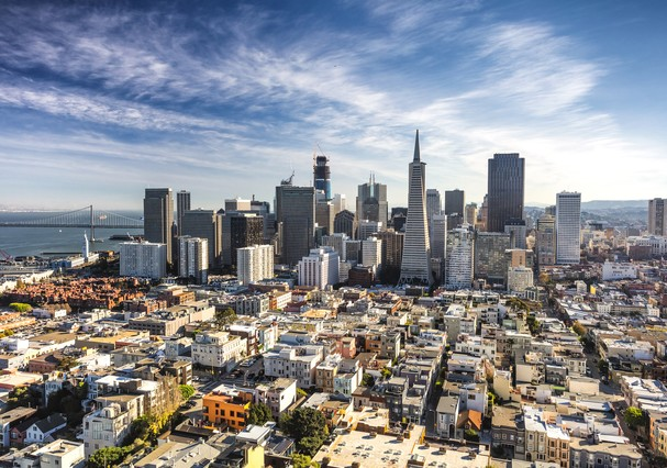 San Francisco Downtown, California (Foto: Getty Images/iStockphoto)