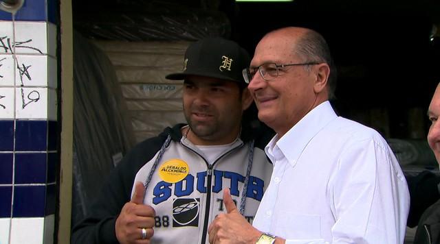 Geraldo Alckmin faz caminhada em São Miguel Paulista e São Matheus