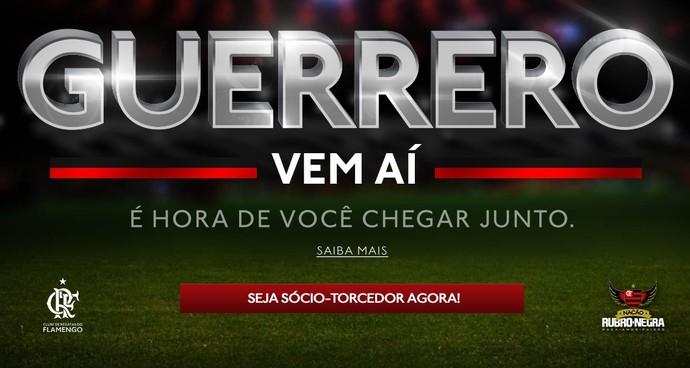 Guerrero Flamengo (Foto: Reprodução)
