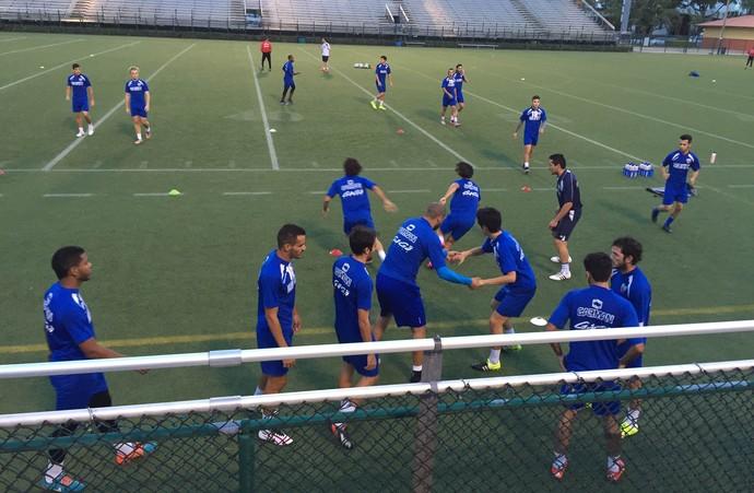 treino Miami United (Foto: Thiago Quintella)