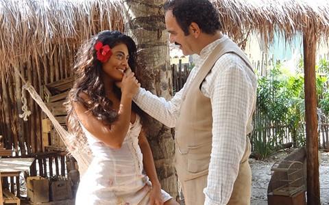 Gabriela reconquista o coração de Nacib (Gabriela / TV Globo)