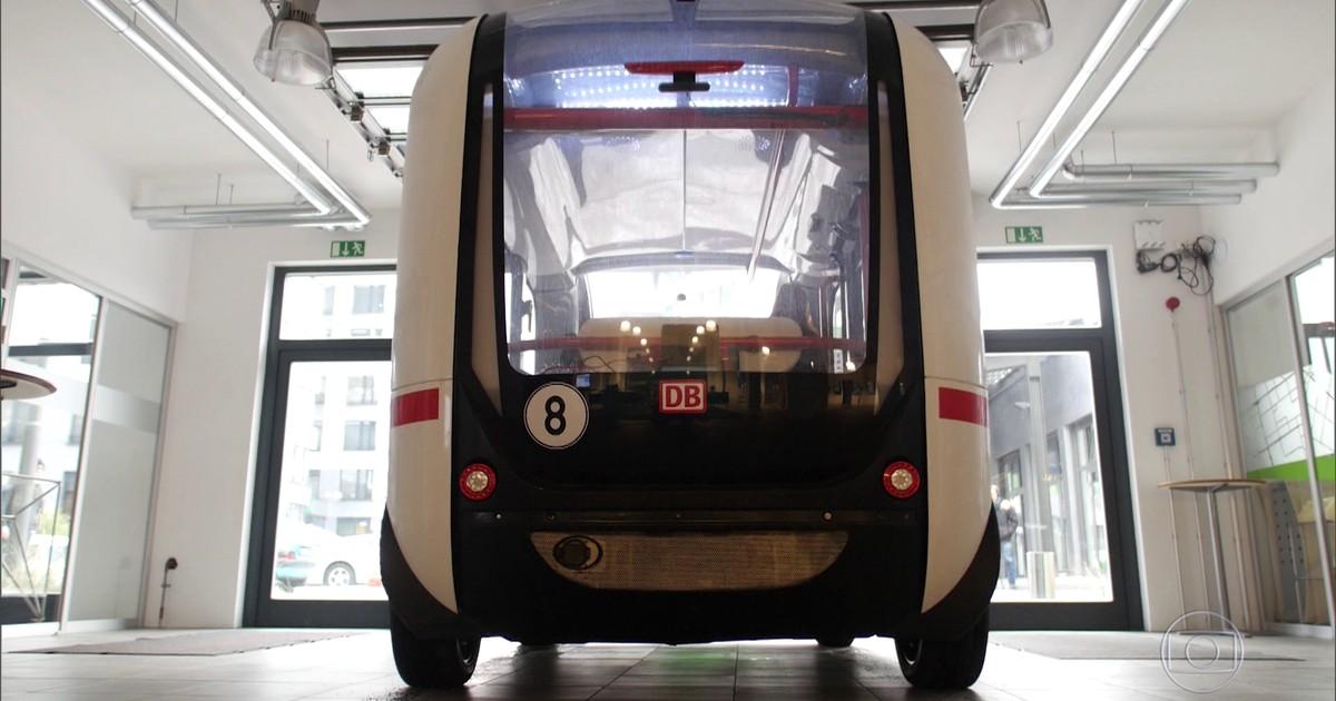 Resultado de imagem para Ônibus que anda sem motorista é testado na Alemanha