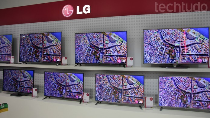Pixels são a menor unidade de dispositivos de exibição como TVs e monitores (Foto: Pedro Zambarda/TechTudo)