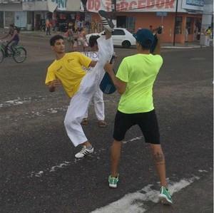 Taekwondo; Amapá (Foto: Bruno Igreja/Arquivo Pessoal)