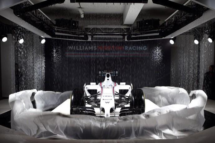 Lançamento da nova pintura da Williams para a temporada 2014 (Foto: Divulgação)
