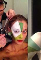 Veja fotos de making off de Barbara di Creddo em campanha da Riachuelo