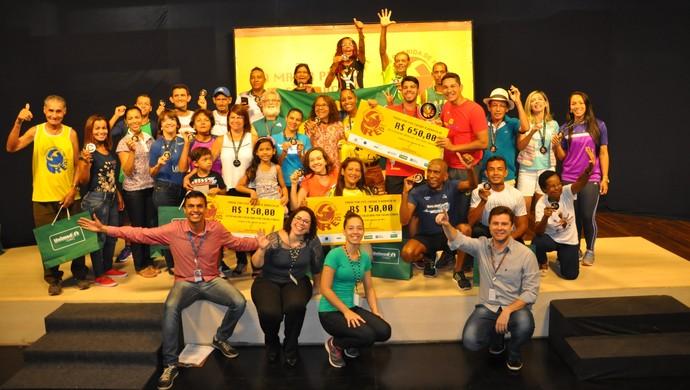 Corrida de Reis 2017, premiação faixa etária (Foto: Derik Bueno)