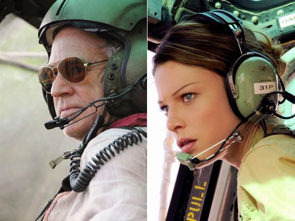 Hawaii Five-0 - O cantor Jimmy Buffett faz uma participação especial como um piloto de helicóptero (Foto: Divulgação)