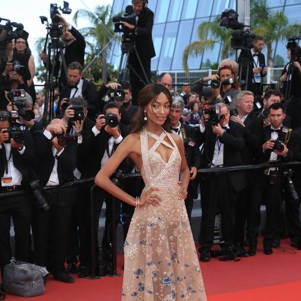 Jourdan Dann em Cannes 2017 (Foto: Antônio Barros)