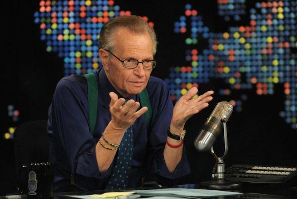 O entrevistador e apresentador de TV Larry King (Foto: Reprodução)