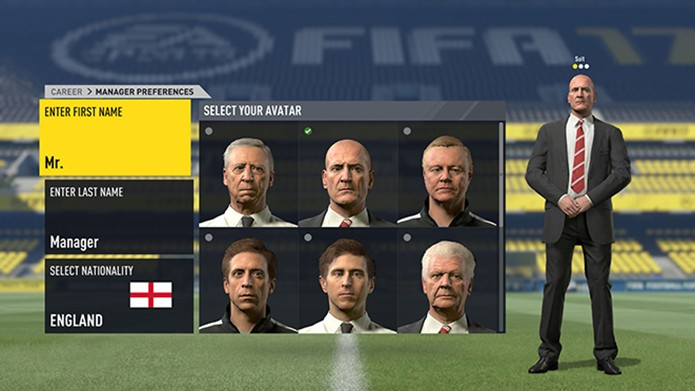 Modo carreira de Fifa 17 ganhou melhorias (Foto: Divulgação/EA Sports)