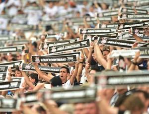 Torcida Corinthians Corinthians x Palmeiras (Foto: Marcos Ribolli)
