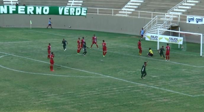 Uberlândia vence o Tricordiano por 1 a 0 na rodada de estreia do Mineiro (Foto: Reprodução EPTV)
