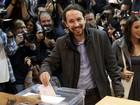 Candidatos votam e chamam eleitores às urnas na Espanha